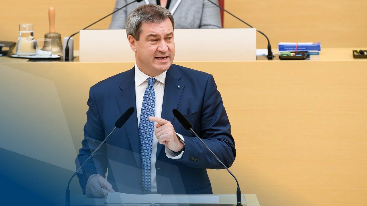 regierungserklrung von ministerprsident dr sder - Markus Soder Lebenslauf
