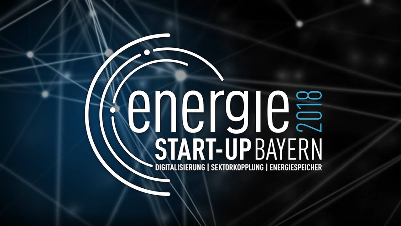Energie Start-up Bayern 2018