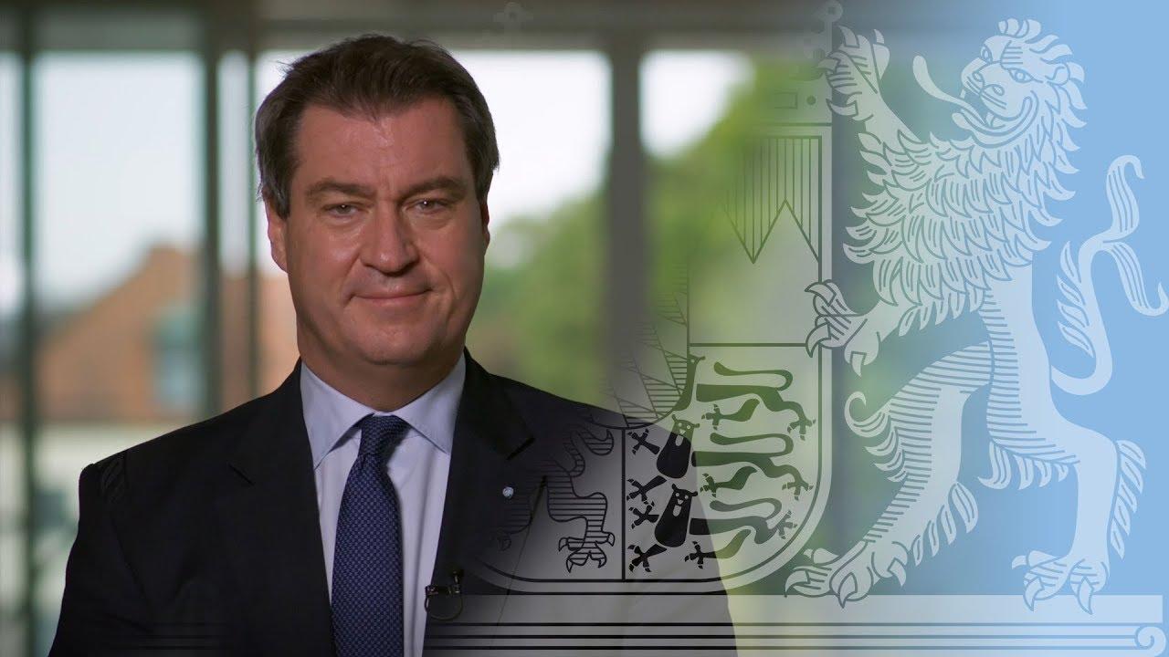 videobotschaft von ministerprsident dr markus sder - Markus Soder Lebenslauf