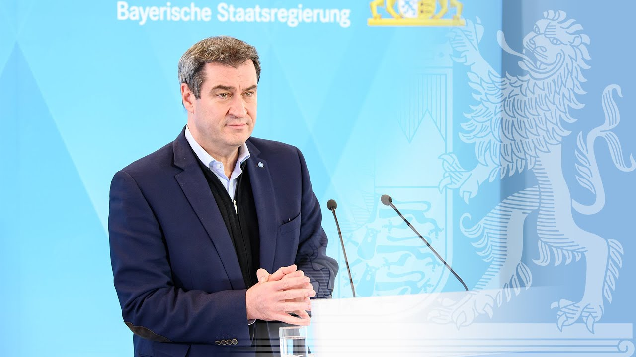 Pressestatement von Ministerpräsident Dr. Markus Söder (1. April 2020)