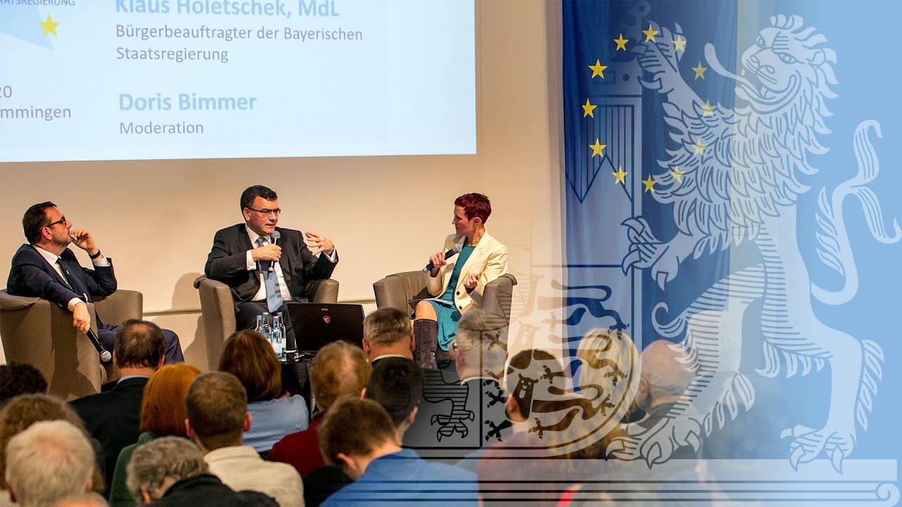 "Bürgerforum ""Europa im Dialog"" in Memmingen"